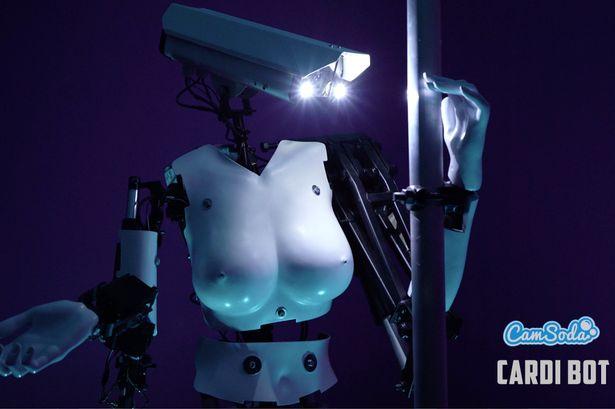 Robot girl porn